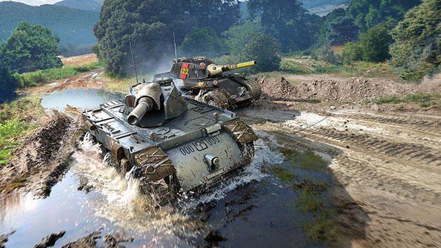 PS4®『World of Tanks』に「戦場のヴァルキュリア」からエーデルワイスとネームレスの2輌が参戦!
