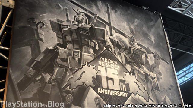 【祝!「機動戦士ガンダム VS.」シリーズ15周年】全長3m! ガンダム巨大黒板アートが秋葉原に出現!