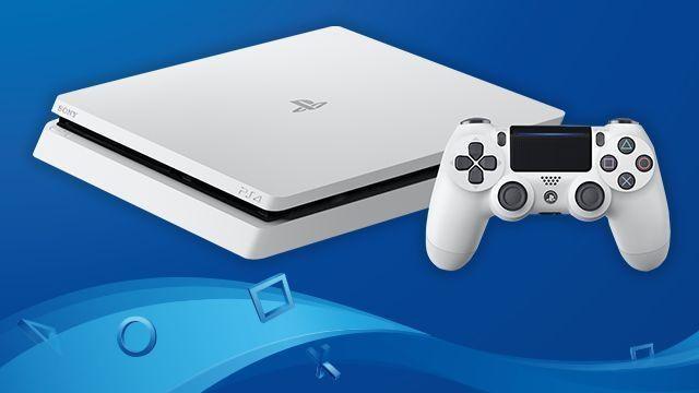 7月29日より、PlayStation®4「グレイシャー・ホワイト」を通常商品として発売