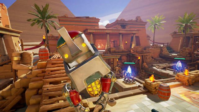 【PS VR】VRで遊ぶ、臨場感バツグンの新感覚タワーディフェンス! 『Ancient Amuletor』好評配信中!