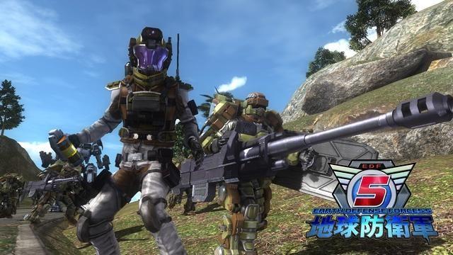 PS4®『地球防衛軍5』の新たな武装が続々と判明! フェンサー&エアレイダーの強力無比な兵装に刮目せよ!