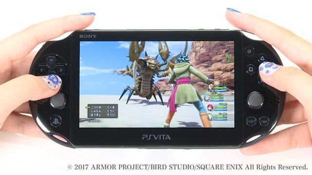 発売直前! PS4®『ドラゴンクエストXI』をリモートプレイ機能を使ってPS Vitaでプレイした映像を初公開!
