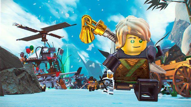 『レゴ®ニンジャゴー ムービー ザ・ゲーム』が10月19日発売! 映画さながらのアクションを動画でチェック!