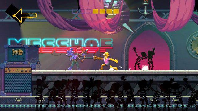 ストイックに戦うハイスピード剣戟アクション──PS4®『Nidhogg 2』が「日本一 Indie Spirits」より9月配信!