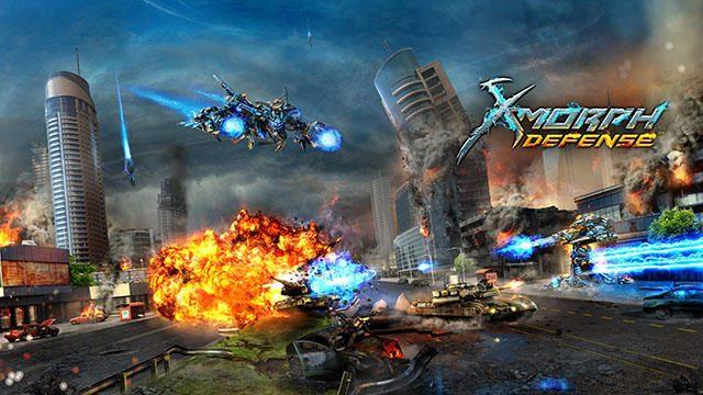 """""""戦略×破壊""""の新機軸! タワーディフェンスとシューティングが融合したPS4®『X-Morph:Defense』配信開始!"""