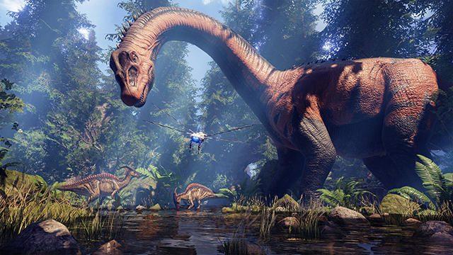 【TGS2017】巨大恐竜パークにVRで没入! 育成ありバトルありの『ARK Park』メディアセッションレポート