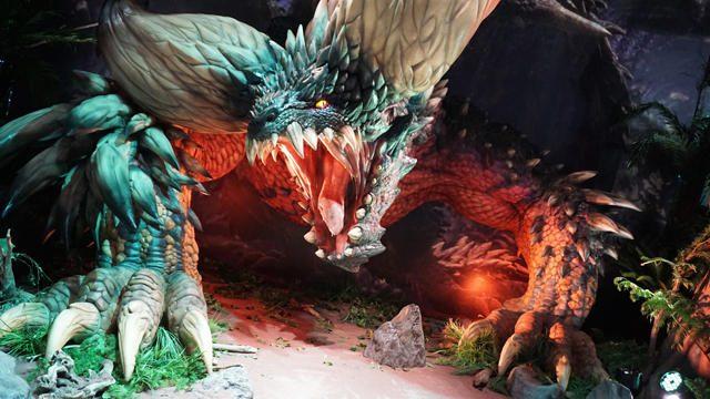 【TGS2017】『モンスターハンター:ワールド』SPステージ4日目! 未公開フィールドの実機プレイを急遽実施!