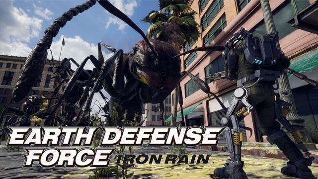 荒廃した地球で繰り広げられるEDFの新たな戦いを描く『EARTH DEFENSE FORCE: IRON RAIN』!