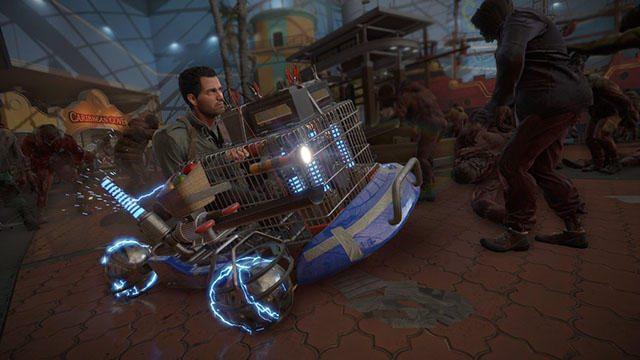 『デッドライジング 4 SE』の新モード「カプコンヒーローズ」解説動画が公開! コンボ武器&車両の情報も!