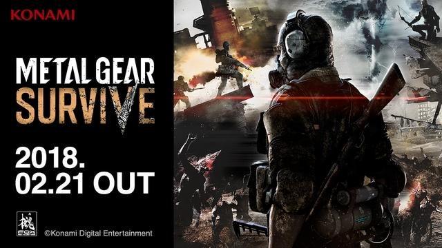 2018年2月21日発売『METAL GEAR SURVIVE』DL版の予約受付開始! 豪華特典付属『デジタルデラックス』版も!