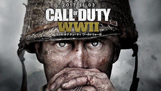 あなたを見つめるキービジュアルが各所に出現! 発売直前『CoD: WWII』の大規模な屋外広告を展開中!