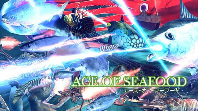 魚や蟹になって広大な海を戦う、海産物3Dアクションシューティング!? PS4®『Ace of Seafood』11月9日配信!