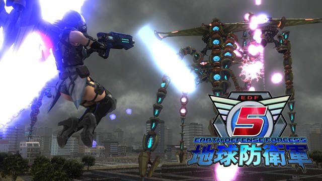 開戦は12月7日!『地球防衛軍5』の新要素である補助装備でキャラクターを強化し異星文明に立ち向かえ!