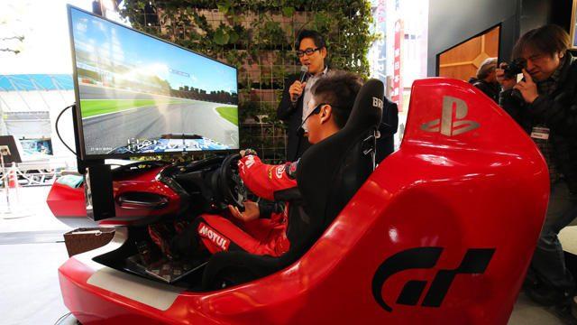 渋谷で『グランツーリスモSPORT』タイムアタック! 11月26日まで「Sony Square Grand Prix」開催中!