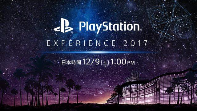 「PlayStation® Experience 2017」開催! 12月9日には「PlayStation Presents」のストリーミング中継あり(英語中継のみ)