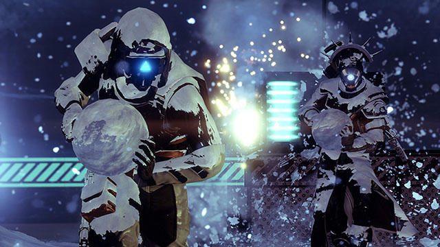 雪合戦や贈り物クエストなどのお楽しみ満載! 『Destiny 2』の年末年始ゲーム内イベント「暁旦」スタート!
