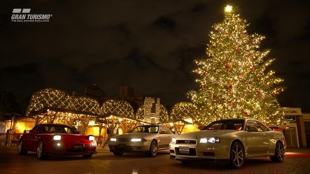 『グランツーリスモSPORT』クリスマスアップデートを本日配信! 「GTリーグ」や新車12台を追加!