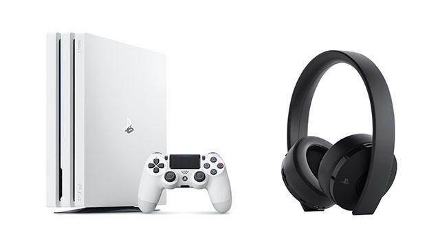 数量限定のPS4®Pro「グレイシャー・ホワイト」、ワイヤレスサラウンドヘッドセット最新モデルを3月8日発売