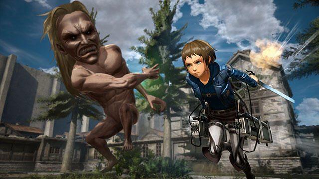 『進撃の巨人2』の進化したゲームシステム。原作キャラとの絆を深めると、さまざまなメリットが!