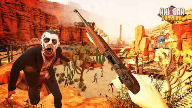 【PS VR】『アリゾナ サンシャイン』本日配信! アリゾナの日差しの下で繰り広げられるゾンビとの戦い!