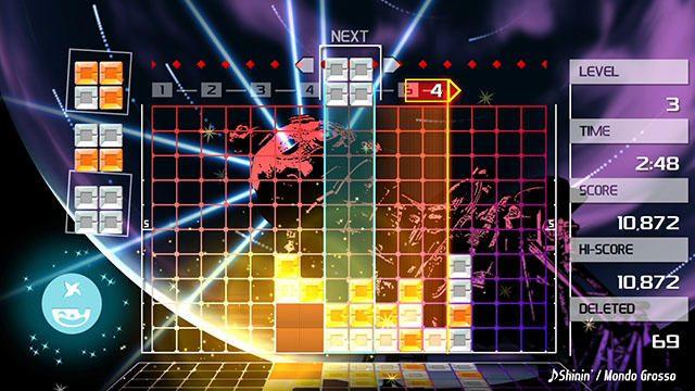 音と光の電飾パズルがPS4®でさらに心地よく! 『LUMINES REMASTERED』5月発売決定!