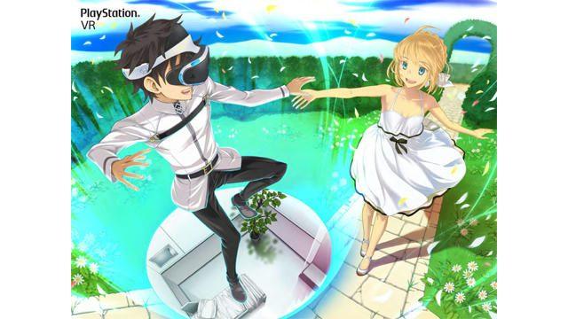 PS VRなどのSony製品と『FGO』がコラボ! 「AnimeJapan 2018」でコラボイラストを初公開!