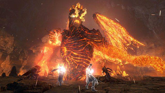 『ドラゴンズドグマ オンライン』のエリアミッション「力に呑まれし王者」解禁! 炎の王イフリートに挑め!