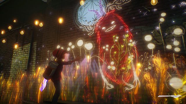 【E3 2018】『Concrete Genie』(仮称)クロスレビュー! 街の闇を浄化する幻想的色彩が絵心を刺激する!
