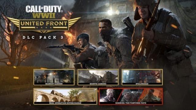 『CoD: WWII』DLC第三弾「UNITED FRONT」を本日より配信開始!