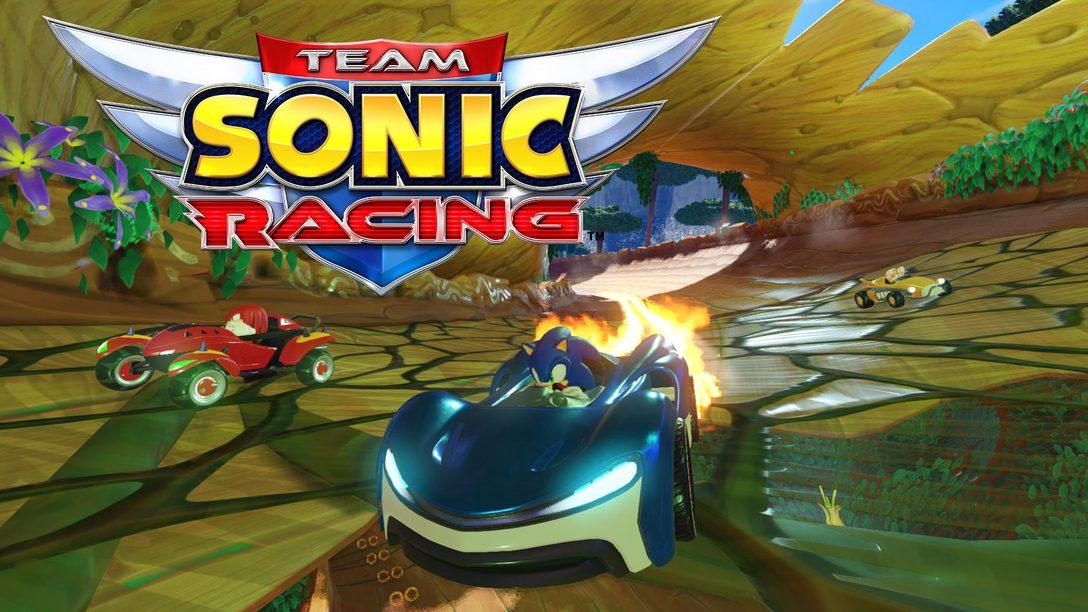 『チームソニックレーシング』で、おなじみの仲間たちがサーキットに集結! 魅惑の登場マシンをチェック!