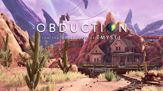 世界的ヒット作『MYST』制作陣の最新作『OBDUCTION』! 驚きに満ちた謎を解き明かすアドベンチャーに挑戦!