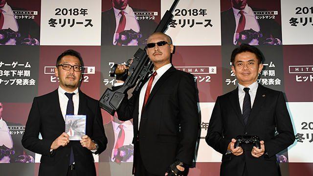 『ヒットマン2』デモプレイが「ワーナーゲーム ラインナップ発表会」で初公開! PR大使はマフィア梶田!