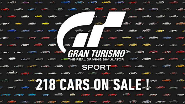 『グランツーリスモSPORT』7月アップデートを本日配信! 200台以上の車両もDLCで販売スタート!