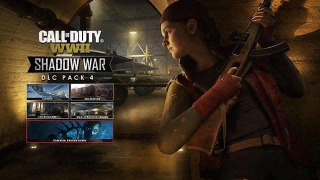 『CoD: WWII』のDLC第四弾「SHADOW WAR」を配信開始! 新たな追加コンテンツで戦いに終止符を!