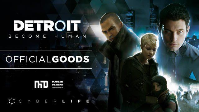 『Detroit: Become Human』オフィシャルグッズが「東京ゲームショウ2018」の会場で発売!