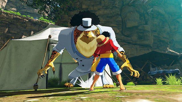 """強大な力がルフィを襲う! 『ONE PIECE WORLD SEEKER』に""""黄猿""""と""""藤虎""""が参戦。さらに人獣型のルッチも!"""