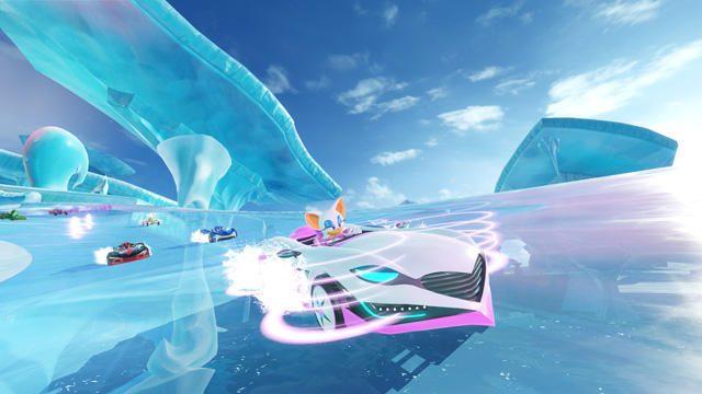 『チームソニックレーシング』に新たな2チームが参加! 氷で覆われた新コースも登場!