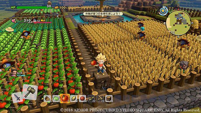 住人との共同作業! 『ドラゴンクエストビルダーズ2 破壊神シドーとからっぽの島』で大農園をつくろう!