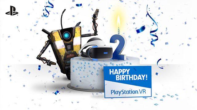 【PS VR】本日10月13日で発売から2周年! PS VRの誕生日を迎えられたことにファンの皆さまへ心より感謝を!