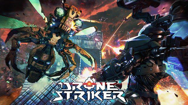 【PS VR】人類の敵となった人工知能兵器と戦うVRシューティング『DRONE STRIKER』本日より配信スタート!