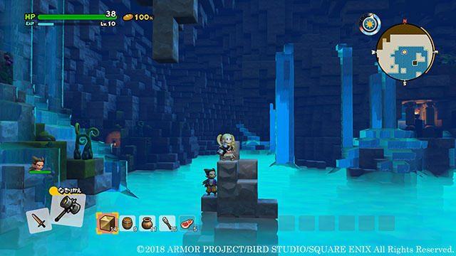 新たな島オッカムルへ! 『ドラゴンクエストビルダーズ2』ではゴールドラッシュの島で地下世界を大冒険!
