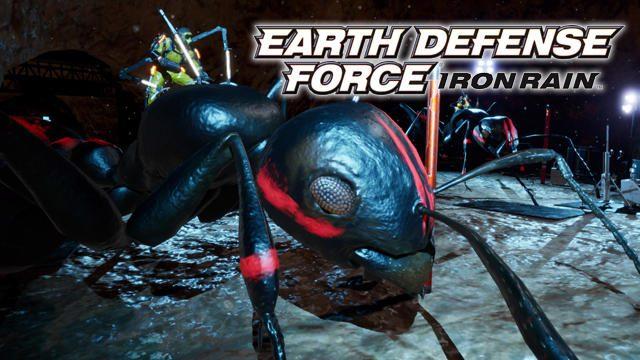 まさかの展開!『EARTH DEFENSE FORCE: IRON RAIN』の第三勢力・レベリオンが......巨大蟻を飼育!?
