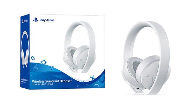 12月7日よりPS4®用「ワイヤレスサラウンドヘッドセット ホワイト」を数量限定で発売!