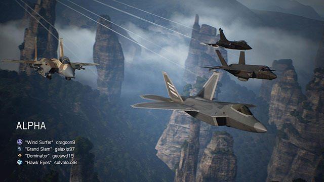 『ACE COMBAT™ 7: SKIES UNKNOWN』のマルチプレイモードで世界中のパイロットとのドッグファイトに挑め!
