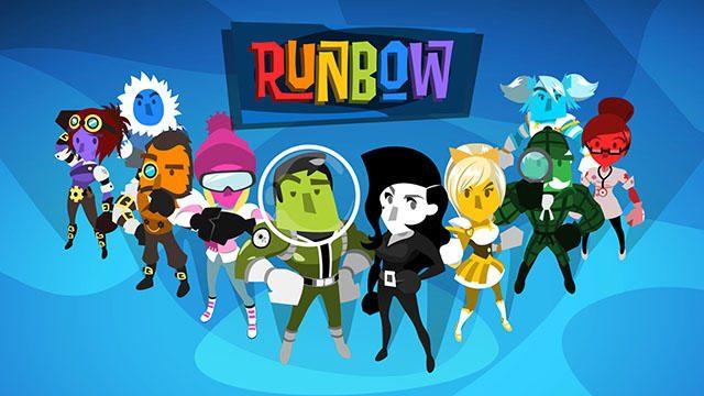 背景色の変化に合わせて足場が消えるアクション『Runbow』が配信中! 開発者インタビューを公開!