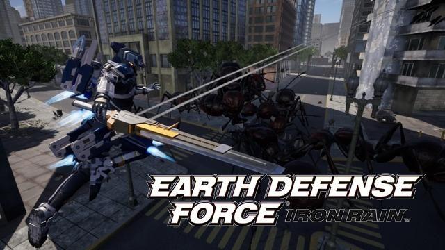 『EARTH DEFENSE FORCE: IRON RAIN』に第4の機動歩兵登場! ワイヤーを駆使した高機動戦闘が爽快! さらに!?