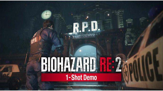 挑戦のチャンスは一度限り! 『バイオハザード RE:2』の体験版『1-Shot Demo』が1月11日より配信!