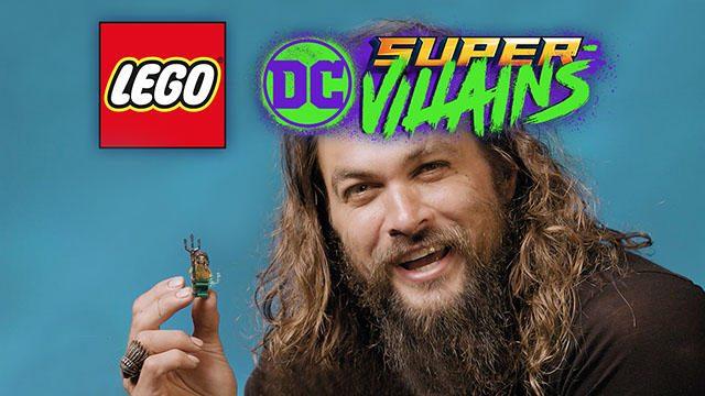 『レゴ®DC スーパーヴィランズ』の「アクアマン バンドルパック」配信! トレーラーに俳優J・モモア登場!