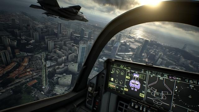 【PS VR】1月12日よりソニーストアのPS VR特別体験会で『ACE COMBAT™ 7: SKIES UNKNOWN』が試遊可能に!