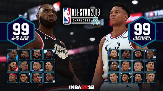 新たにプレイを始める絶好のチャンス! 『NBA 2K19』でオールスター記念2大キャンペーンが開催中!